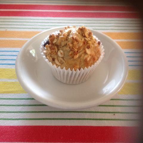 Lovely moist muffins.