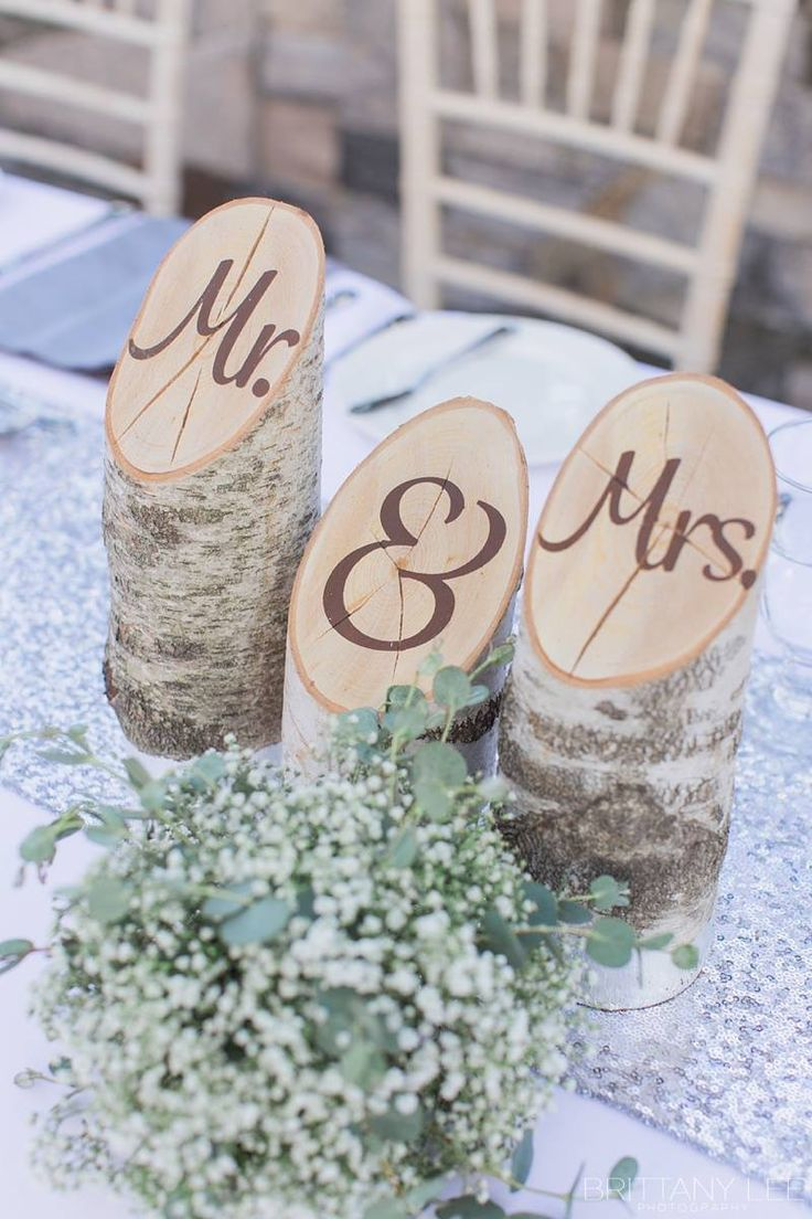 Decor inspiration for the wedding reception - Photo: Brittany Lee Photography