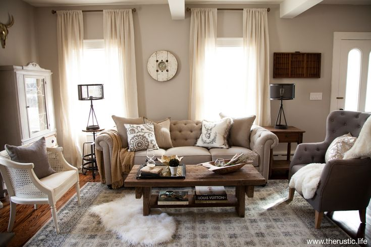 Tips For Formal Living Room Ideas A Beautifully Designed Refined Rustic Formal Living Room