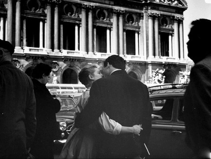 Kees Scherer The kiss - Paris 1956