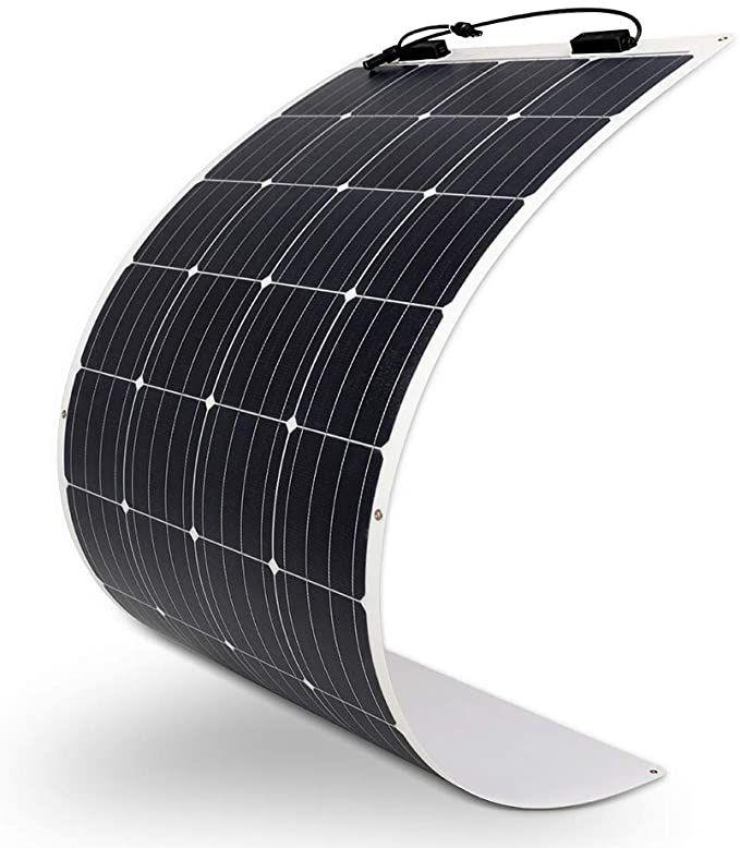 Amazon Com Renogy 160 Watt 12 Volt Extremely Flexible Monocrystalline Solar Panel Ultra Light In 2020 Monocrystalline Solar Panels Solar Panels Solar Panel Charger