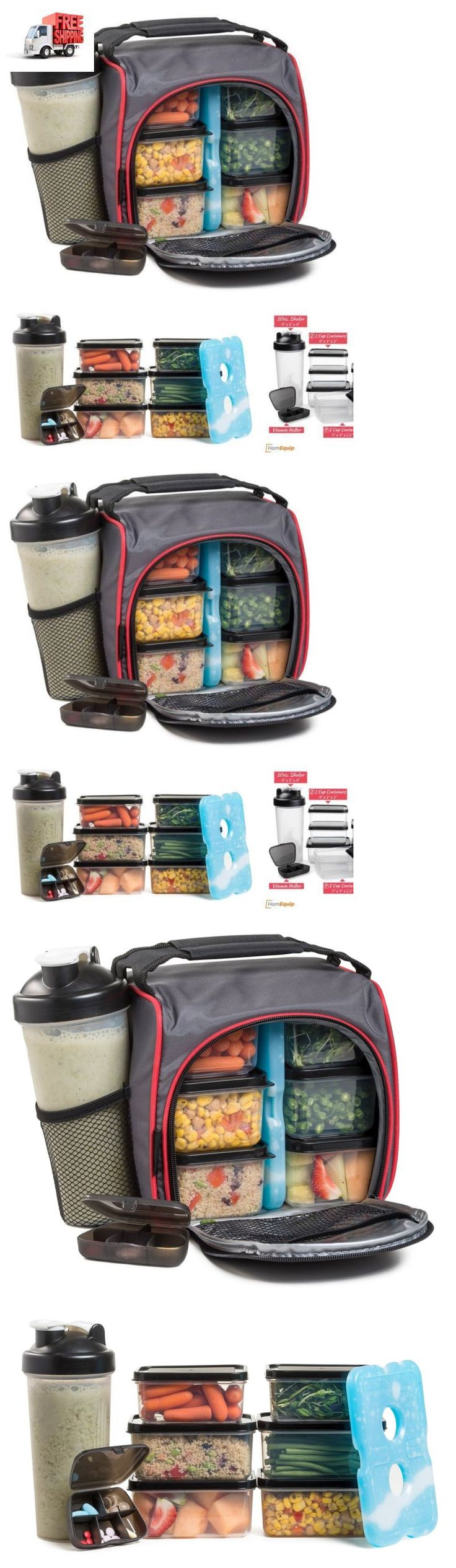 Food Storage Containers 20655: Meal Prep Travel Bag W Bonus Food Containers Organized Storage Lunch Box Cooler -> BUY IT NOW ONLY: $35.59 on eBay!