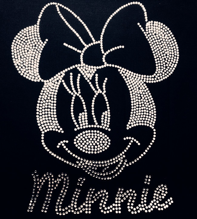 Aliexpress.com : Buy Free Shipping 17x21cm 20pcs/lot MINNIE Rhinestones Heat Transfer Design Iron On Motifs patches Free Custom Design from Reliable hotfix motif suppliers on E & F LiNa Fashion Accessories