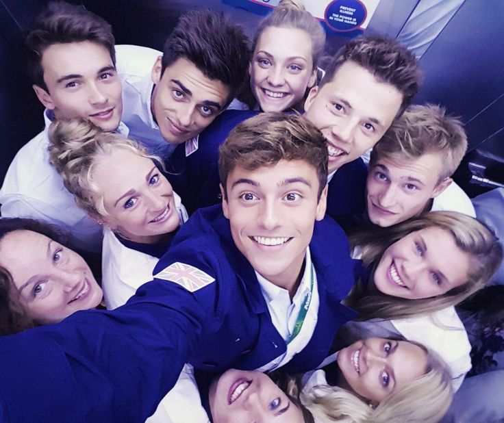Rio Opening Ceremony: Behind the scenes with the Olympians - Tom Daley | Great Britain | Diving All dressed up in our opening ceremony gear, ready to watch from the village :) @teamgb Twitter/TomDaley1994