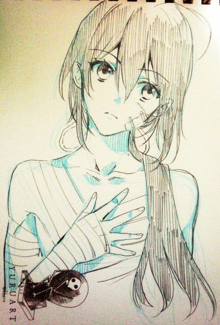 how to draw manga girl freestyle