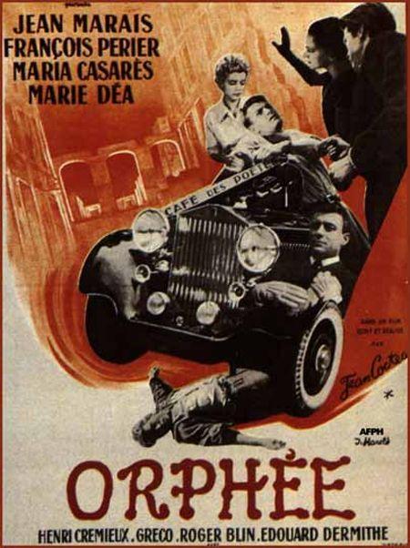 Orphee Jean Cocteau | Le mythe d'Orphée selon Jean Cocteau