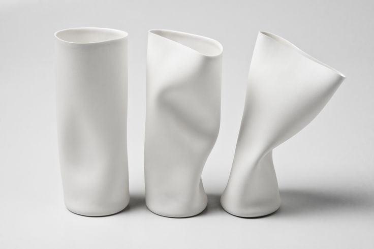 quentin de coster vessels aka why do i love smushed ceramics so much?