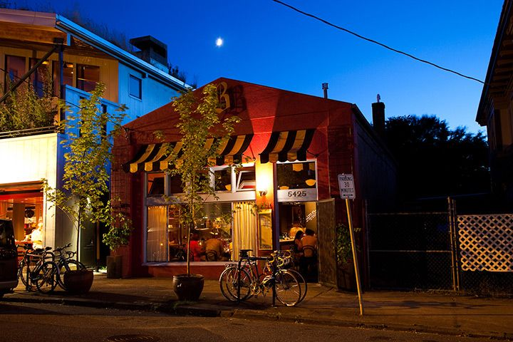 """Credit: Susan Seubert Beast offers a six-course, prix fixe menu in northeast Portland. Chef Naomi Pomeroy and partner Micah Paredes focus on local ingredients in a style they call """"refined French grandmother"""""""