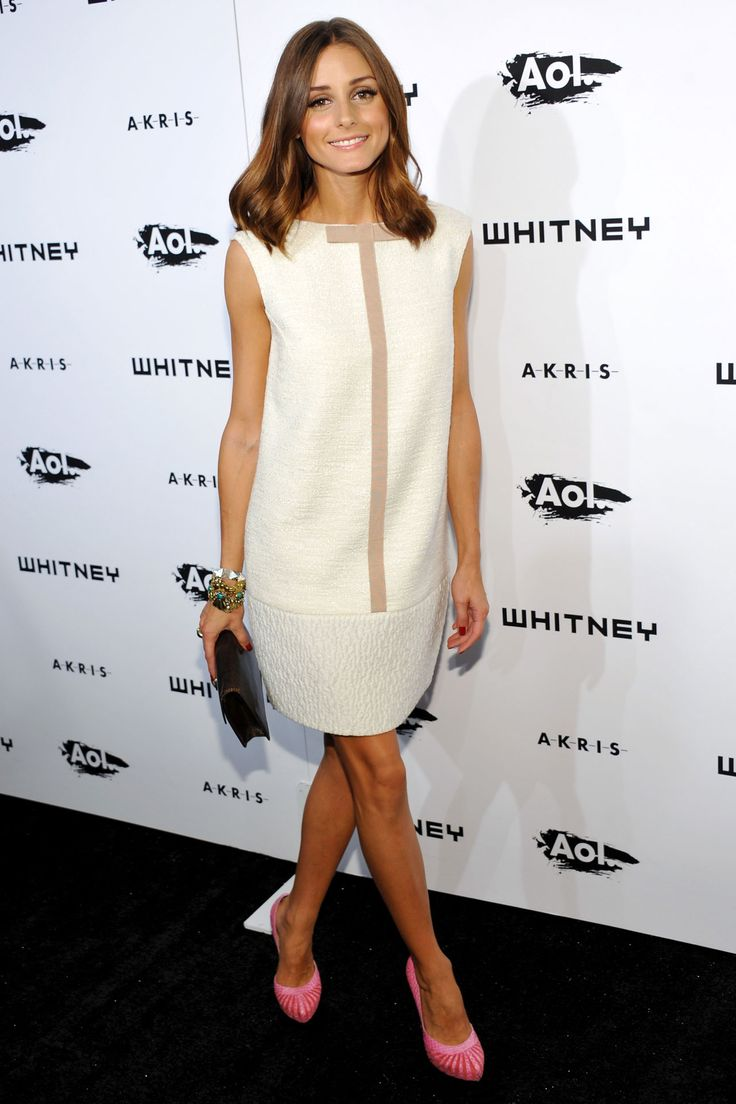 Olivia Palermo | October 2010 | She wore a white Giambattista Valli dress to the Whitney Gala in New York