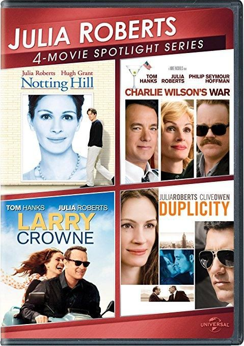 Julia Roberts & Tom Hanks & Tony Gilroy & Mike Nichols -Julia Roberts 4-Movie Spotlight Series