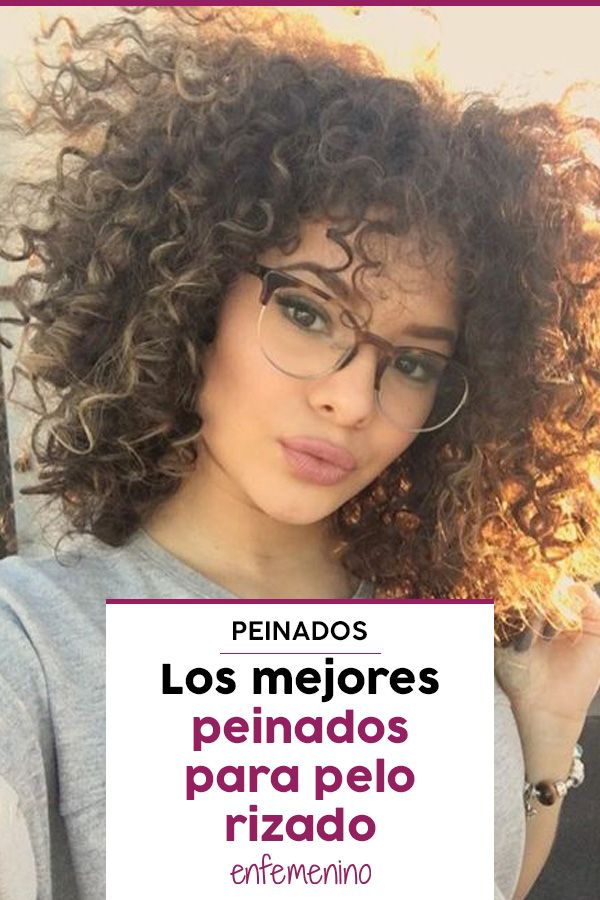 40 Ideas De Peinados Para Media Melena Rizadas Peinados