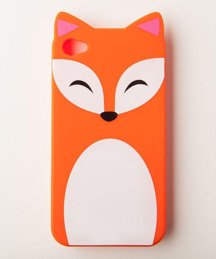 Fox phone case.
