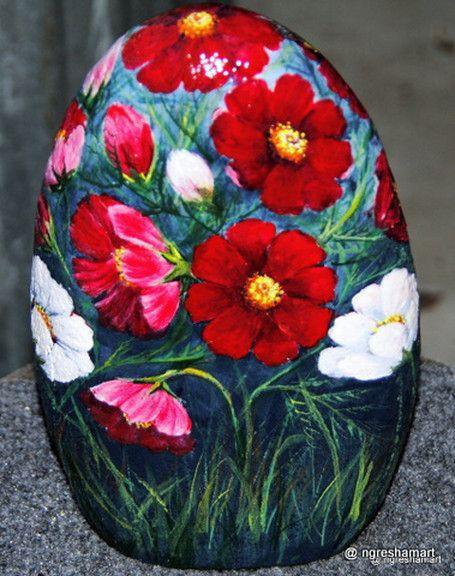 www.ngreshamart.com/handpainted rocks gallery