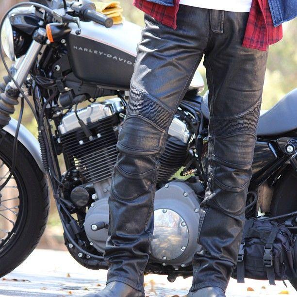 uglyBROS USA: Triton coated denim motopants now available in Australia through http://suus.com.au/store