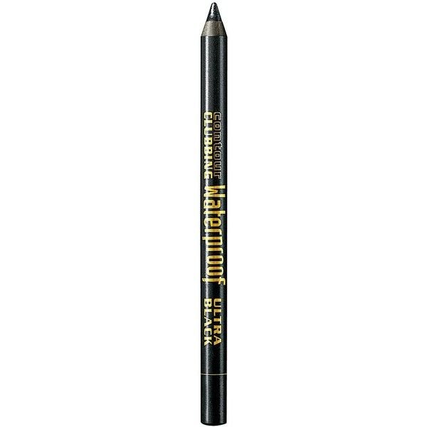 Bourjois Contour Clubbing Waterproof Eyeliner (£5.99) ❤ liked on Polyvore featuring beauty products, makeup, eye makeup, eyeliner, bourjois eyeliner, bourjois and eye makeup remover