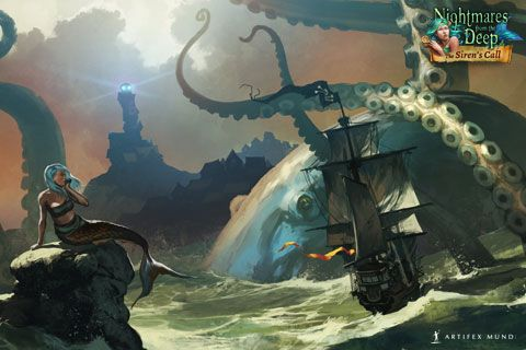 Nightmares from the Deep®: The Siren`s Call  480x320  #wallpaper