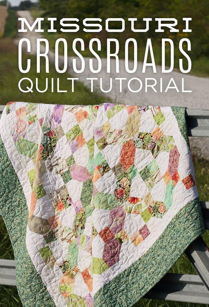 Free Missouri Crossroads Quilt Tutorial! & 125 best missouri star quilting co. images on Pinterest | Missouri ... pillowsntoast.com