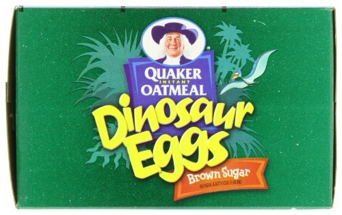 ... Oatmeal Dinosaur Eggs, Brown Sugar Cereal, 8-Count Boxes (Pack of 4