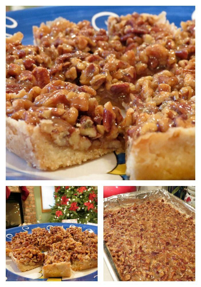 Caramel Pecan Bars Pecans=Awesome' Shortbread Crust=Awesome Caramel=Awesome Caramel Pecan Bars=Awesome #desserts #recipe #cookies