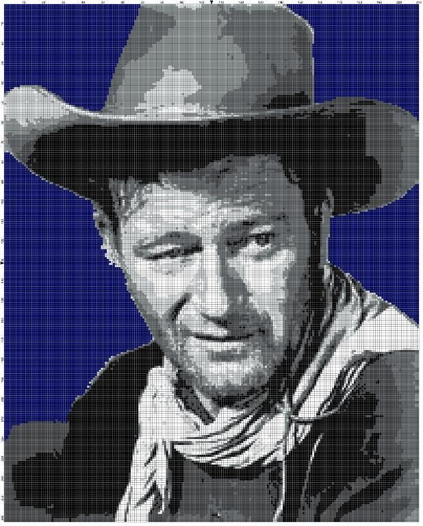 Looking for your next project? You're going to love John Wayne by designer Alta Smucker.
