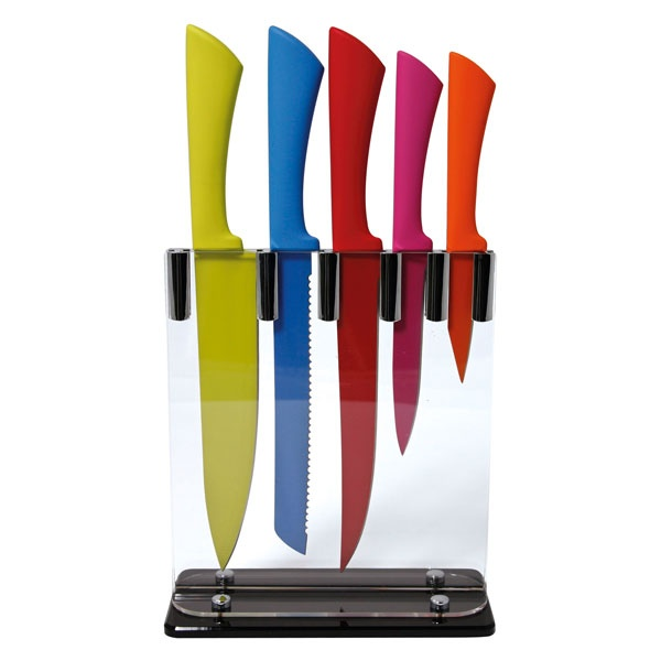 coloured kitchen knives for the home pinterest
