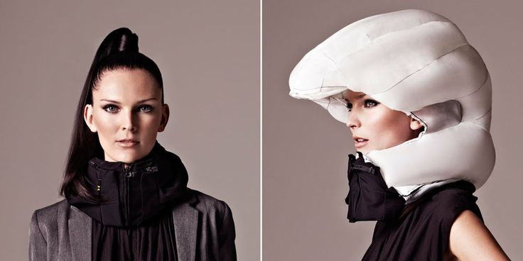 Hövding cycle airbag helmet - the invisible helmet.