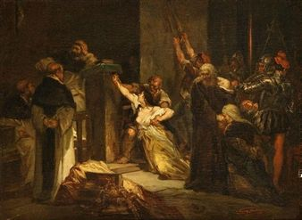 Artworks of Louis Gallait (Belgian, 1810 - 1887) www.mutualart.com338 × 247Buscar por imagen Christoffel Columbus presenting his plans at the court of Ferdinand of Aragon and Isabella of Castilla By Louis Gallait Chen%20Yifei - Buscar con Google