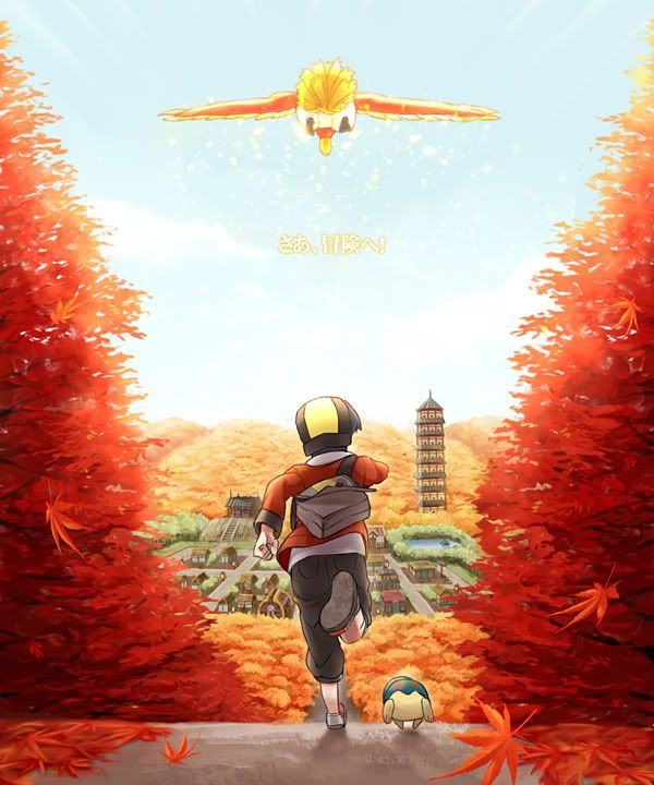 Chasing Ho-oh -- Pokemon SoulSilver and HeartGold