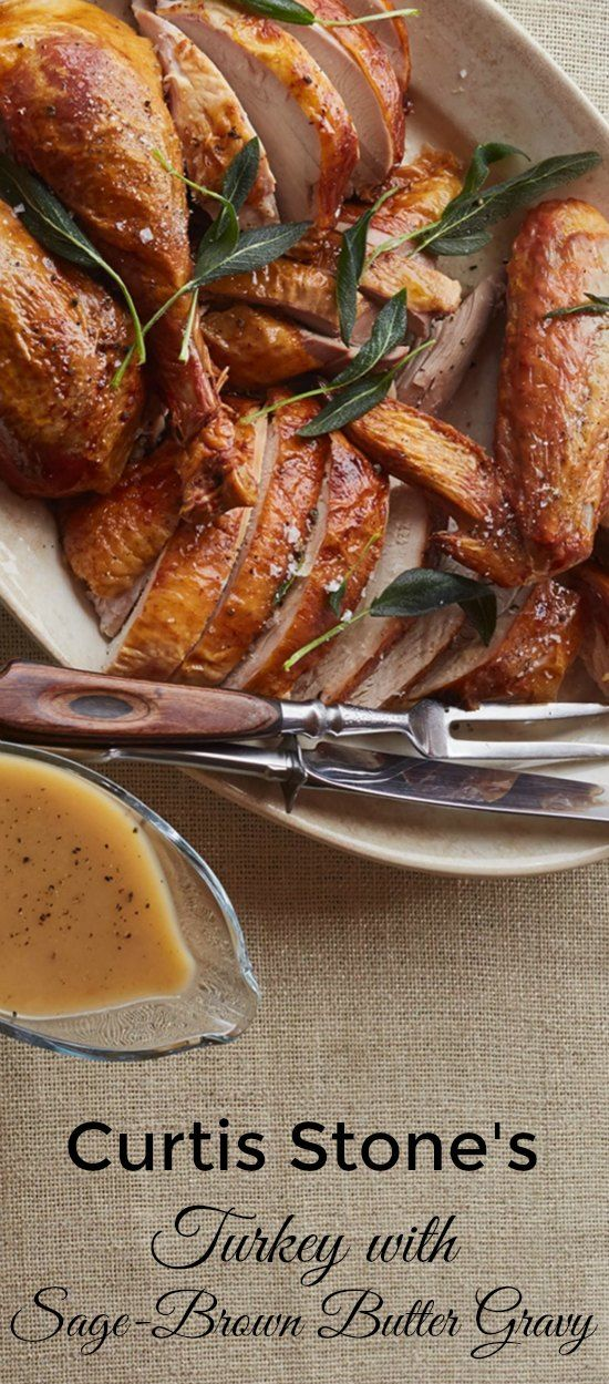Curtis Stone's Turkey with Sage-Brown Butter Recipe Featured on Having Fun Saving & Cooking