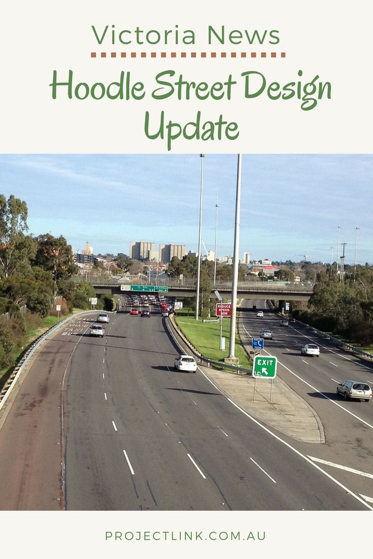 Hoddle Street upgrades to begin later this year.