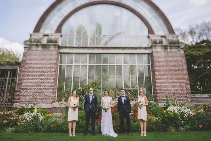 A popular spot for photos is The Wintergardens at Auckland Domain, Wedding of Katie and Simon, Together Journal Issue One   Photography by Coralee Stone