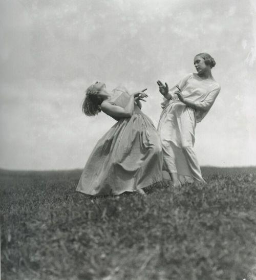 Dancers of Mary Wigman's School, Saxe Switzerland - Elli Seraidari, 1923