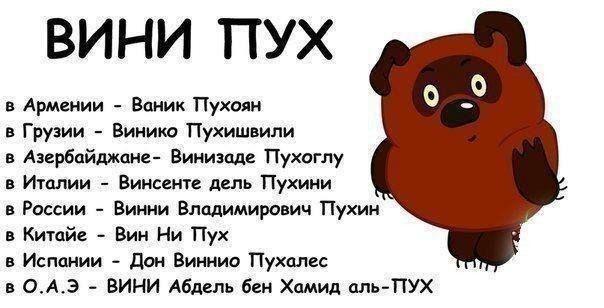Позвольте представиться, Винни Пух! #pooh #bear - Весёлые картинки - Страница 117