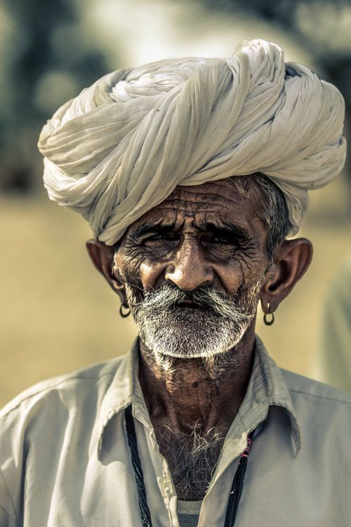 A face of rajasthan Photo by Arpit T. — National Geographic Your Shot