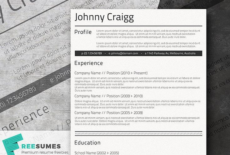 17 best images about free resume templates for word on