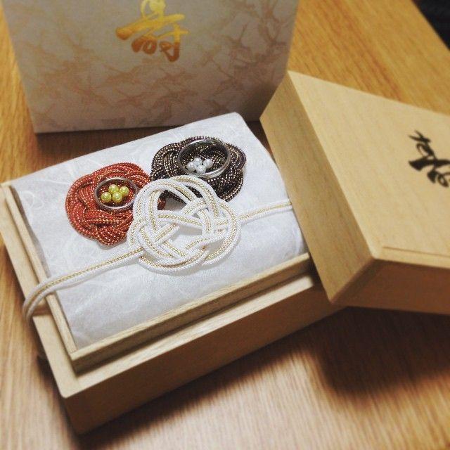 和装ウェディングに合わせたい♡可愛い和風リングピローのデザインまとめ*にて紹介している画像