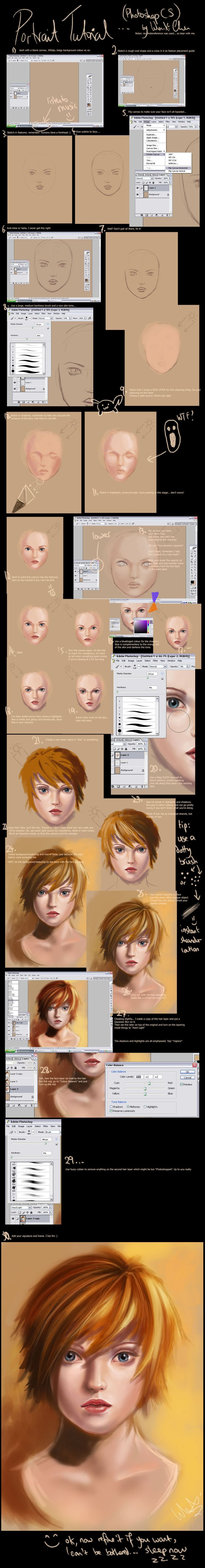 Digital Painting, color theory and other tutorials & Concept Art with Photoshop