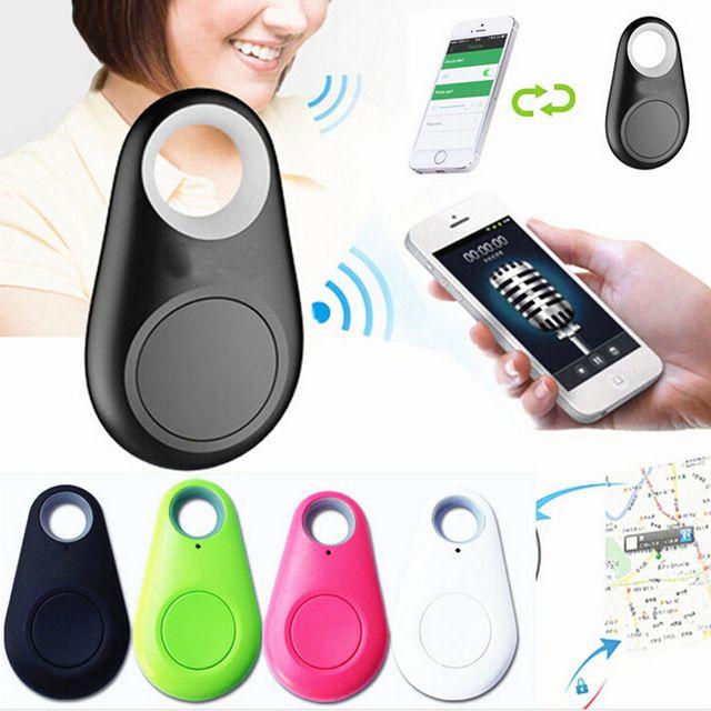 Mini Smart Finder Wireless Bluetooth GPS Tracker Anti-lost Locator Kid Pet Walle