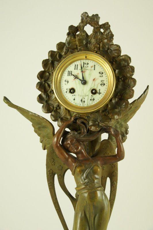 Антикварные часы и парные подсвечники в стиле модерн (Франция): a_la_belle