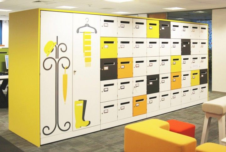 Designer Office Lockers | Spacestor HotLocker