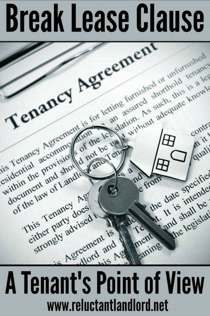 how to break an apartment lease without penalty