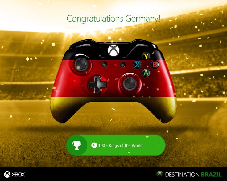 Entertainment for Xbox #WorldCup