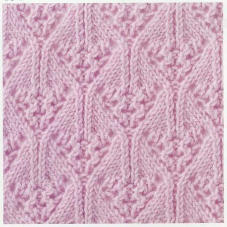 Lace Knitting Stitch #36 {charted}