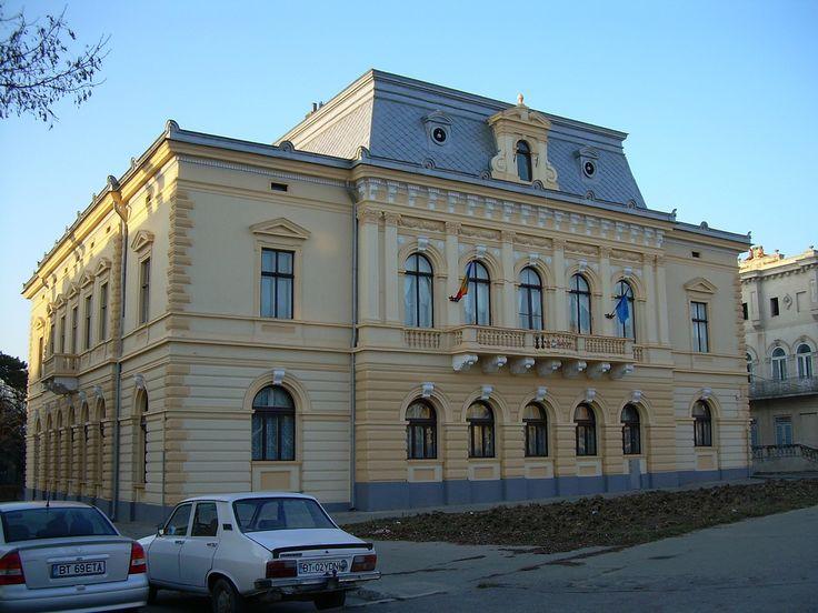 """Casa Moscovici, azi S.C. """"Nord Proiect"""" (1872), Calea Națională 62, Botoșani"""