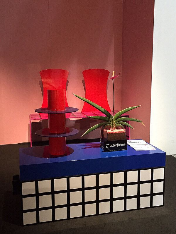 #tamara trunk, #lecloseriedeslilas pot and #gertrudeealice seat, #design Elena Cutolo for #altreforme grand altreforme hotel #stand @iSaloni 2015  #grandaltreformehotel #altreformegoesfashion #myminisalvador #designweek#interior #home #decor #homedecor #furniture with #woweffect #aluminium
