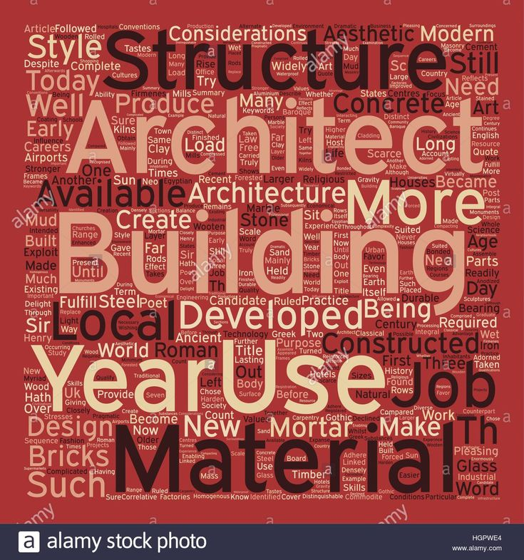 Download this stock vector: Architecture and Architects Jobs text background wordcloud concept - HGPWE4 from Alamy's library of millions of high resolution stock photos, illustrations and vectors.