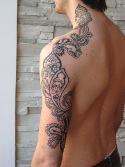 .: Tattoo Ideas, Patterns Tattoo, Art Tattoo, Thighs Tattoo, Tattoo Patterns, Tattoo Design, Paisley Tattoo, Arm Tattoo, Lower Back Tattoo