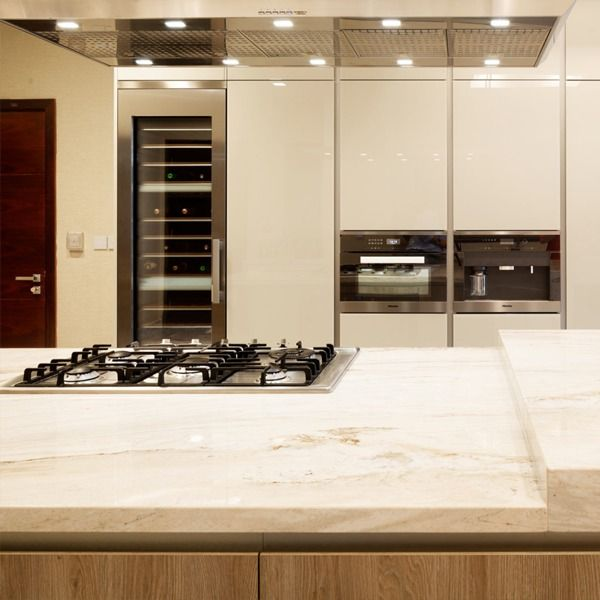 Way Kitchen Design District One Dubai Modern Kitchen Design Kitchen Design Interior Design Kitchen
