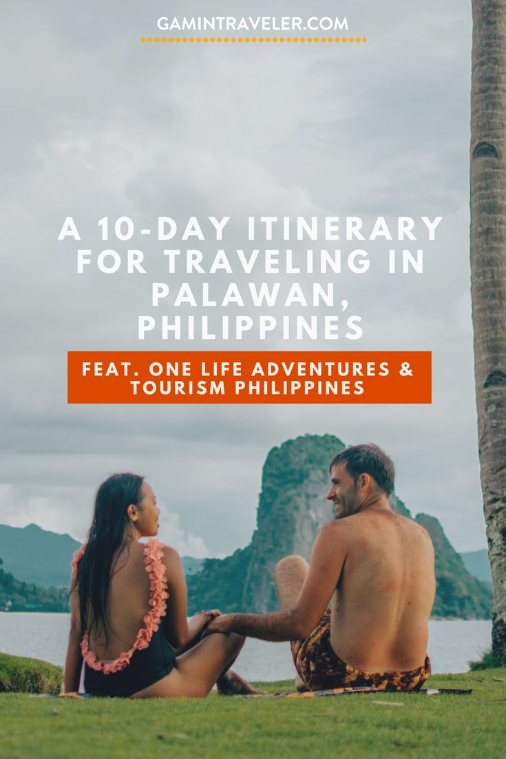 Visiting the Philippines? Read ou experience with One Life Adventures in Palawan. One Life Adventures Experience via @gamintraveler
