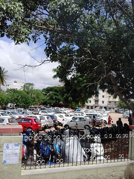 File:Mysore Zoo Garden Parking space.jpg